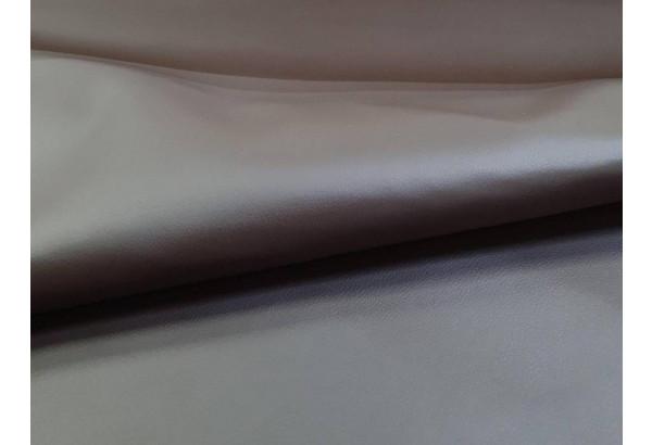 Прямой диван аккордеон Сенатор бежевый/коричневый (Велюр/Экокожа) - фото 9