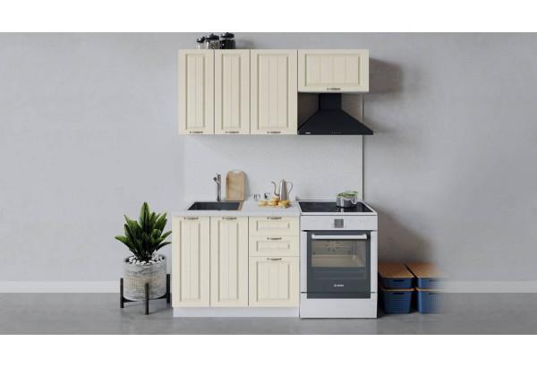 Кухонный гарнитур «Лина» длиной 160 см (Белый/Крем) - фото 1