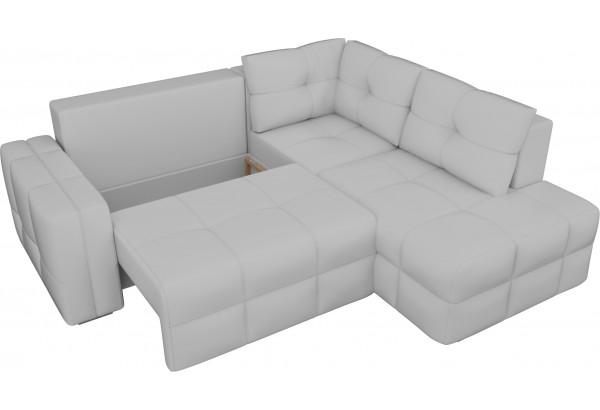 Угловой диван Леос Белый (Экокожа) - фото 5