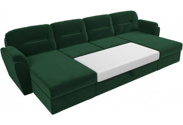 П-образный диван Бостон Зеленый (Велюр) - фото 7