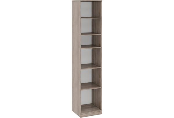 Шкаф для белья с 1-ой дверью левый «Прованс» Дуб Сонома трюфель/Крем - фото 2