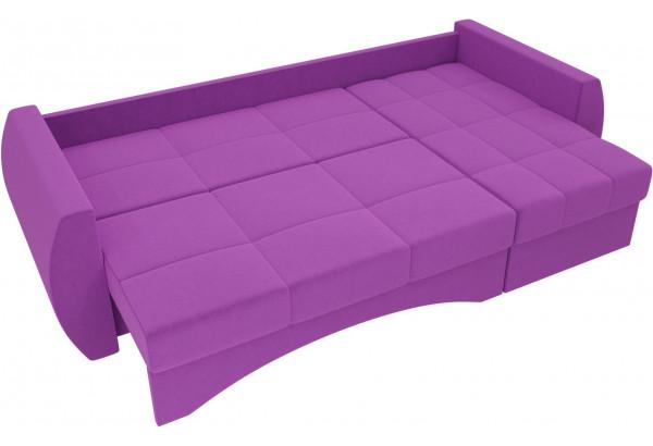 Угловой диван Сатурн Фиолетовый (Микровельвет) - фото 6