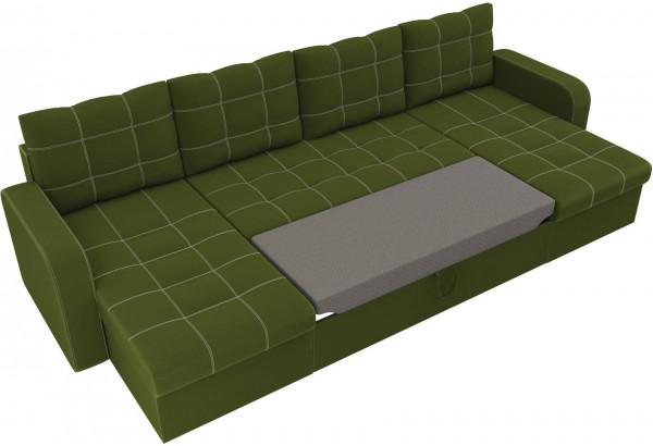 П-образный диван Ливерпуль Зеленый (Микровельвет) - фото 6