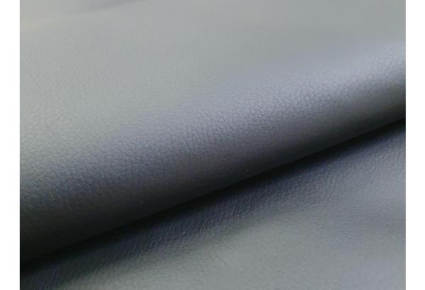 Диван прямой Карнелла голубой/черный (Велюр/Экокожа) - фото 7