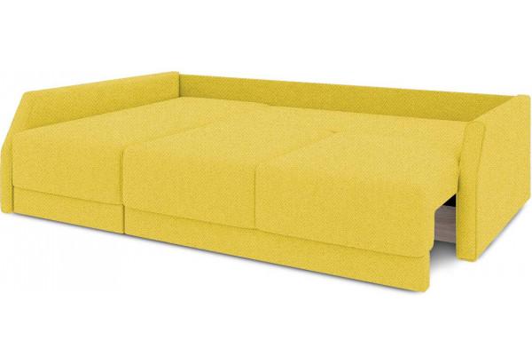 Диван угловой левый «Люксор Slim Т2» (Neo 08 (рогожка) желтый) - фото 7