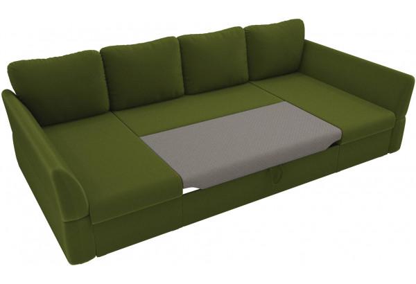 П-образный диван Гесен Зеленый (Микровельвет) - фото 6
