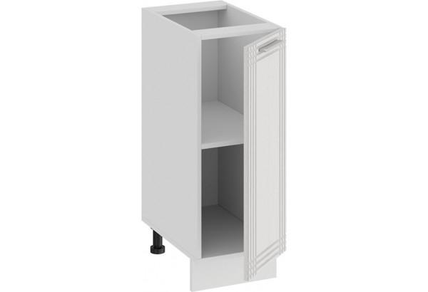 Шкаф напольный с одной дверью «Ольга» (Белый/Белый) - фото 2