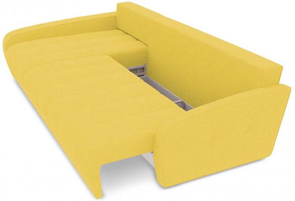 Диван угловой левый «Аспен Slim Т2» (Neo 08 (рогожка) желтый) - фото 6