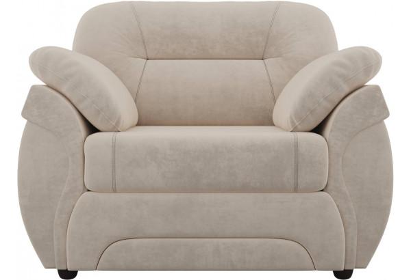 Кресло Бруклин Бежевый (Велюр) - фото 2