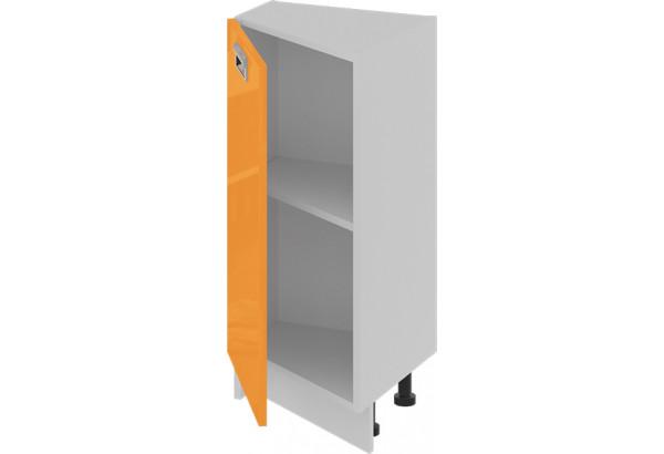 Шкаф напольный нестандартный торцевой (левый) (БЬЮТИ (Оранж)) - фото 2
