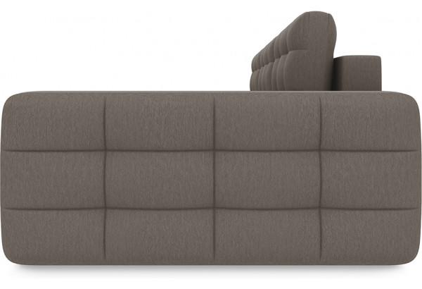 Диван угловой правый «Райс Т2» (Kolibri Mocco (велюр) коричневый) - фото 4