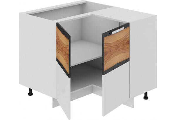 Шкаф напольный нестандартный угловой с углом 90° Фэнтези (Вуд) - фото 1