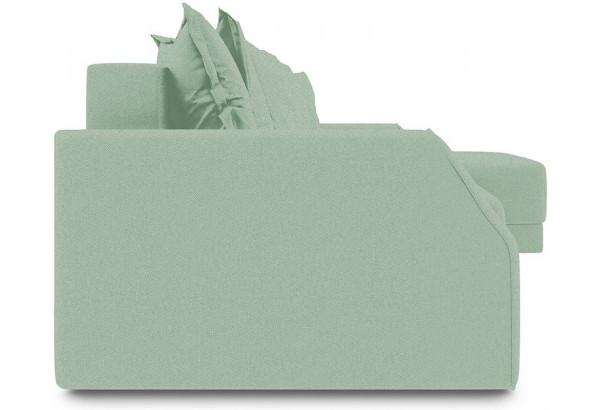 Диван угловой правый «Люксор Slim Т1» (Neo 05 (рогожка) мятный) - фото 3