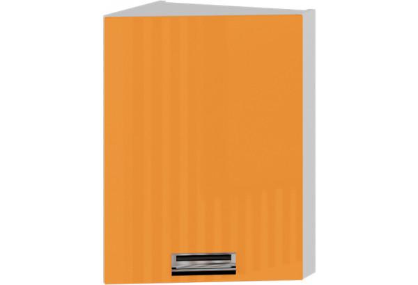 Шкаф навесной торцевой (правый) БЬЮТИ (Оранж) - фото 1