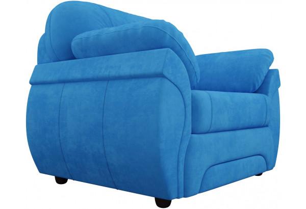 Кресло Бруклин Голубой (Велюр) - фото 3