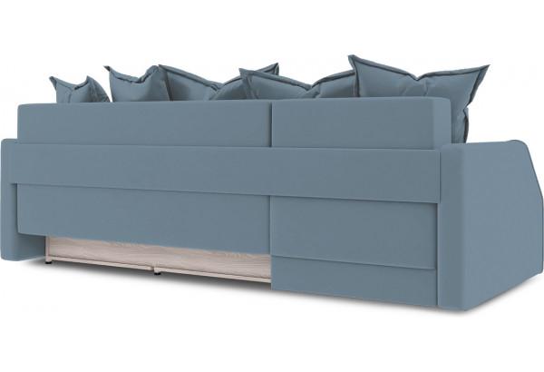 Диван угловой левый «Люксор Slim Т1» (Poseidon Ocean (иск.замша) серо-голубой) - фото 4