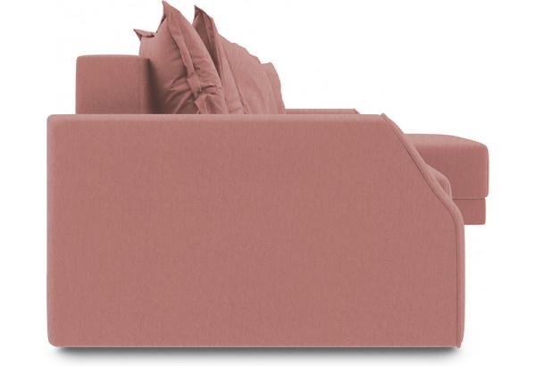 Диван угловой правый «Люксор Slim Т1» (Kolibri Bery (велюр) коралловый) - фото 3
