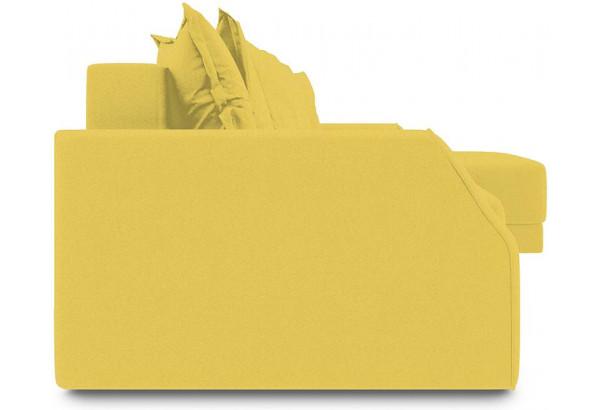 Диван угловой правый «Люксор Slim Т1» (Neo 08 (рогожка) желтый) - фото 3