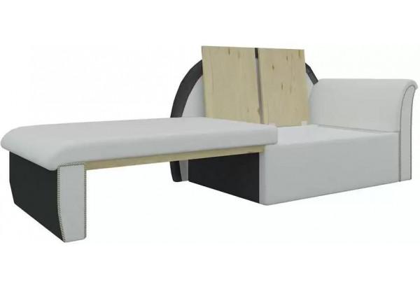 Кушетка Кипр-1 (Белый\Черный) Белый/Черный (Экокожа) - фото 3