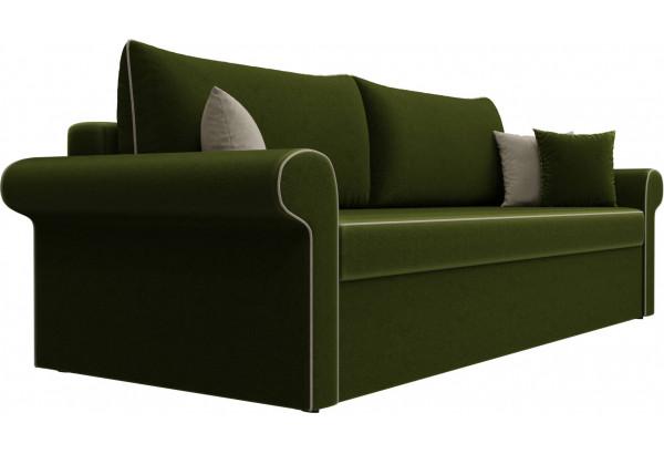Диван прямой Милфорд Зеленый (Микровельвет) - фото 3