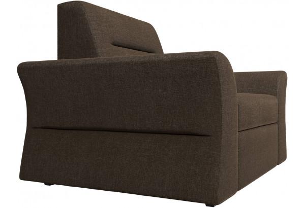 Кресло Клайд Коричневый (Рогожка) - фото 3