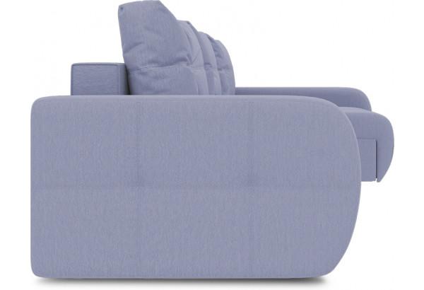 Диван угловой правый «Томас Т2» (Poseidon Blue Graphite (иск.замша) серо-фиолетовый) - фото 3