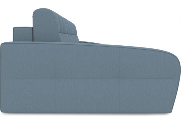 Диван угловой левый «Аспен Т2» (Poseidon Ocean (иск.замша) серо-голубой) - фото 4