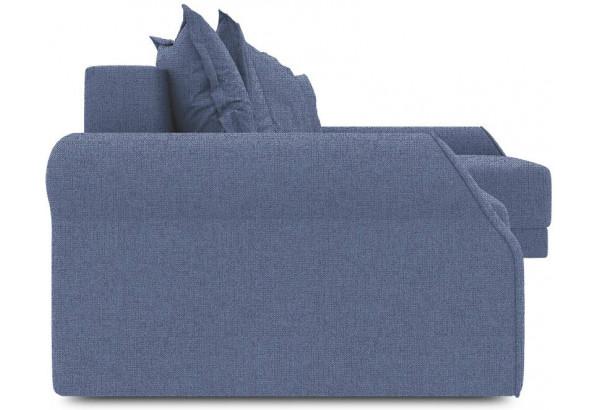 Диван угловой правый «Люксор Т2» (Levis 78 (рогожка) Темно-синий) - фото 3