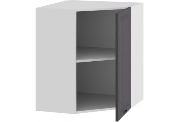 Шкаф навесной угловой «Лина» (Белый/Графит) - фото 2