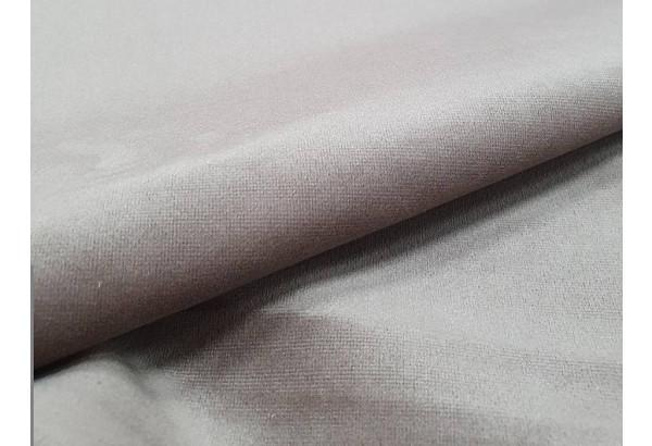 Кухонный прямой диван Токио бежевый/коричневый (Велюр) - фото 8