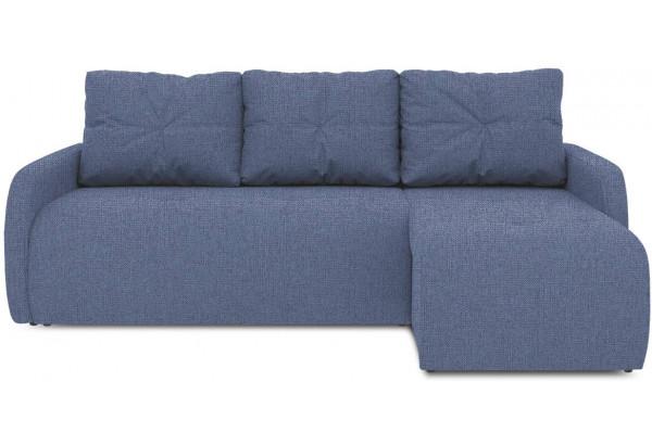 Диван угловой правый «Томас Slim Т1» (Levis 78 (рогожка) Темно-синий) - фото 2