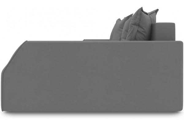 Диван угловой правый «Люксор Slim Т2» (Galaxy 02 (велюр) бежевый) - фото 3