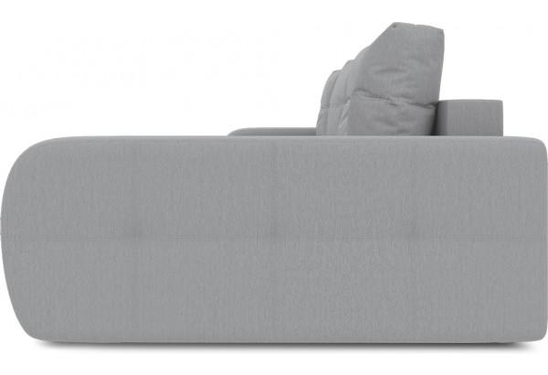 Диван угловой правый «Томас Т2» (Poseidon Grey (иск.замша) серый) - фото 5