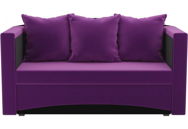 Кушетка Чарли Фиолетовый/Черный (Микровельвет) - фото 2