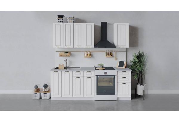 Кухонный гарнитур «Лина» длиной 160 см (Белый/Белый) - фото 1