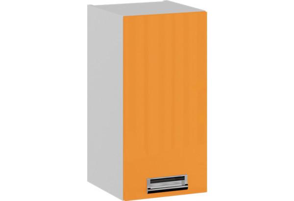 Шкаф навесной (левый) БЬЮТИ (Оранж) - фото 1