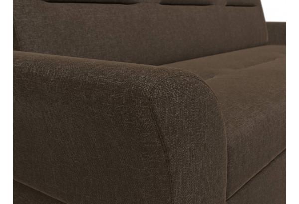 Прямой диван Клайд Коричневый (Рогожка) - фото 4