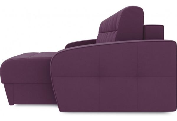 Диван угловой правый «Аспен Т1» (Kolibri Violet (велюр) фиолетовый) - фото 5
