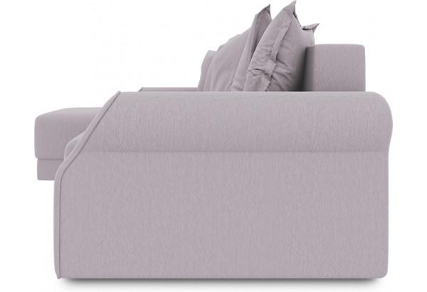 Диван угловой левый «Люксор Т1» (Poseidon Pale Lavender (иск.замша) бледно-лавандовый) - фото 3