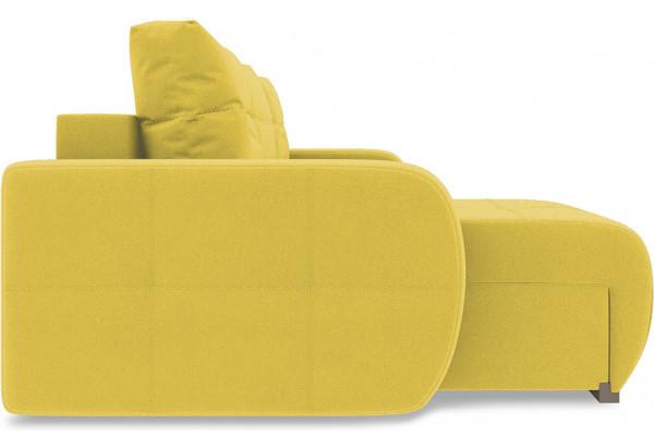 Диван угловой левый «Томас Slim Т1» Neo 08 (рогожка) желтый - фото 5