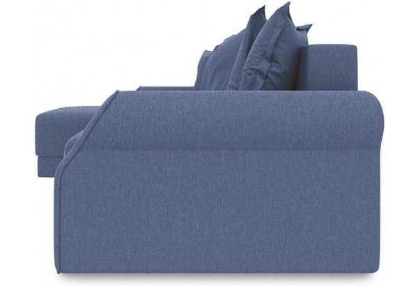 Диван угловой левый «Люксор Т1» (Levis 78 (рогожка) Темно-синий) - фото 3