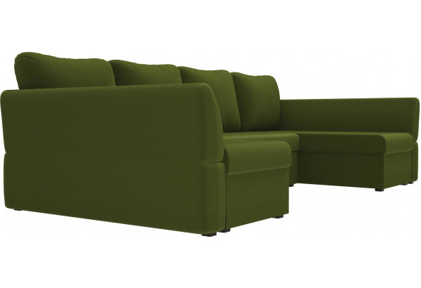 П-образный диван Гесен Зеленый (Микровельвет) - фото 3