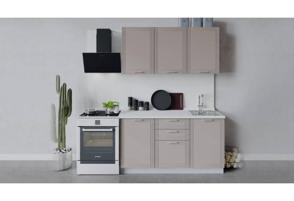 Кухонный гарнитур «Ольга» длиной 150 см (Белый/Кремовый) - фото 1