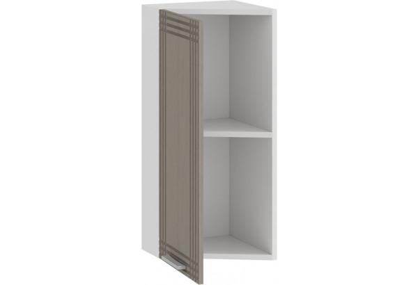 Шкаф навесной торцевой «Ольга» (Белый/Кремовый) - фото 2
