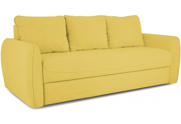 Диван «Отто» Neo 08 (рогожка) желтый - фото 1