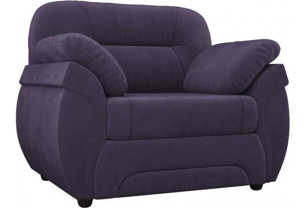 Кресло Бруклин Фиолетовый (Велюр) - фото 1