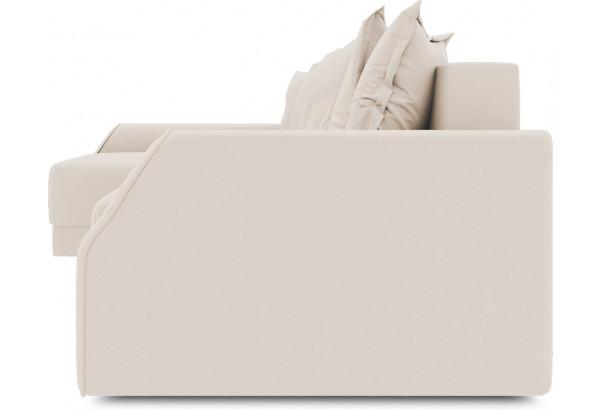 Диван угловой левый «Люксор Slim Т2» (Kolibri Cream (велюр) кремовый) - фото 3