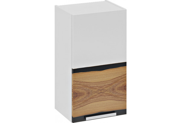 Шкаф навесной (левый) Фэнтези (Вуд) 400x323x720 - фото 2