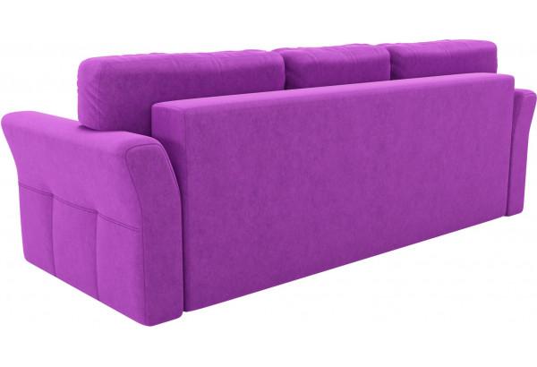 Диван прямой Манхеттен Фиолетовый (Микровельвет) - фото 5
