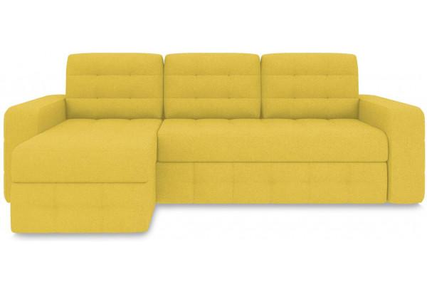 Диван угловой левый «Райс Т1» (Neo 08 (рогожка) желтый) - фото 2